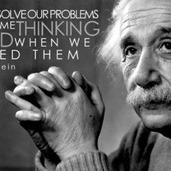 Problemen oplossen volgens Einstein