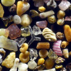 Zand van heel dichtbij